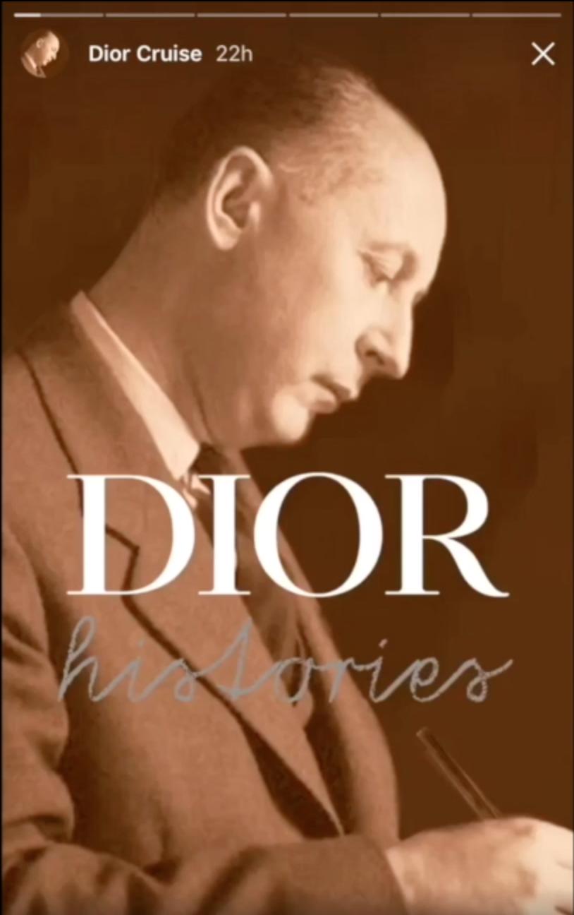 story dior