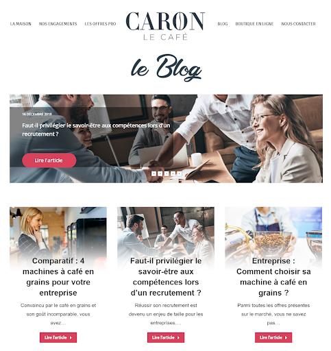 blog Café Caron