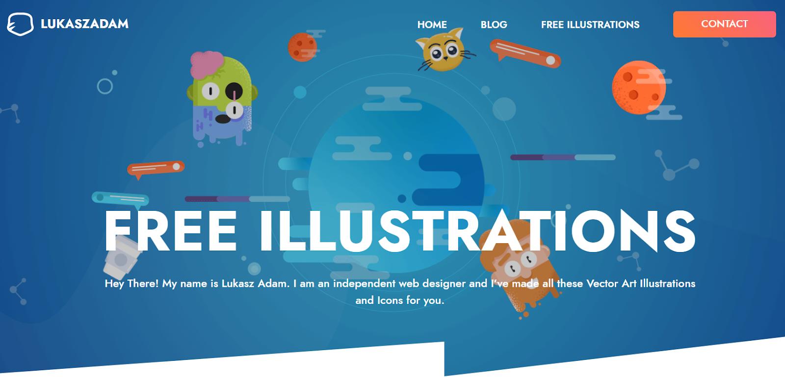 Lukas Zadam - banques d'illustrations gratuites