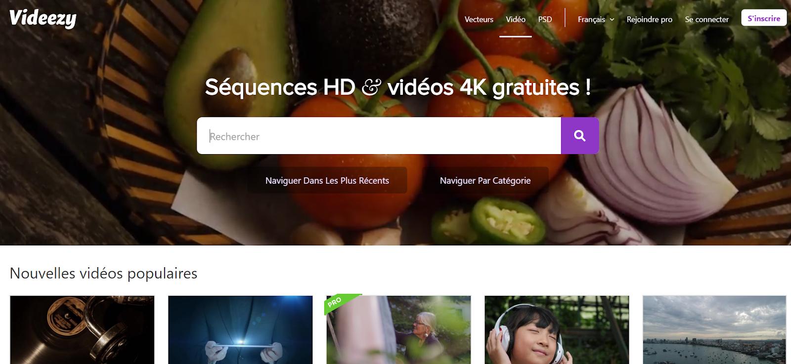 videezy - banque de vidéos HD